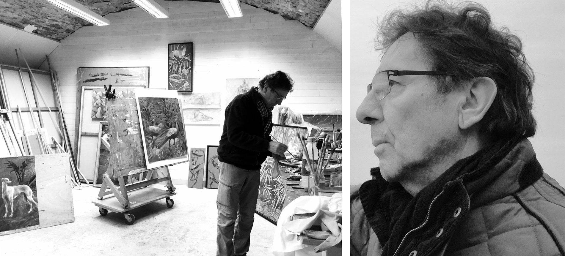 Atelier Jacques Pibot à Saint-Malo Intra Muros