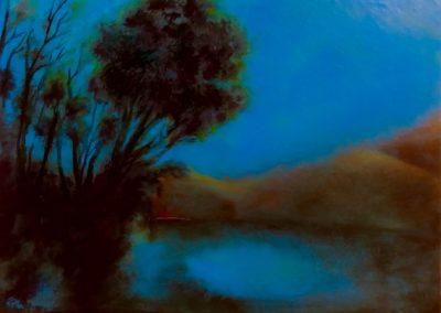 Alcoutim - Huile sur toile - 24 cm x 32 cm
