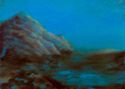 La pointe du Nid - Huile sur toile - 32 cm x 40 cm